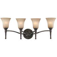 Nuvo Lighting Franklin 4 Light Vanity & Wall in Georgetown Bronze 60/4244