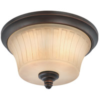 Nuvo Lighting Franklin 2 Light Flushmount in Georgetown Bronze 60/4251