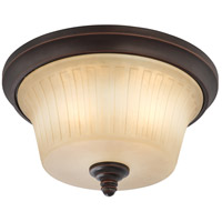 Nuvo Lighting Franklin 3 Light Flushmount in Georgetown Bronze 60/4252