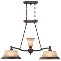 Nuvo Lighting Franklin 2 Light Trestle in Georgetown Bronze 60/4254