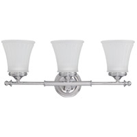 Teller 3 Light 21 inch Polished Chrome Vanity & Wall Wall Light