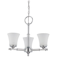 Teller 3 Light 20 inch Polished Chrome Chandelier Ceiling Light