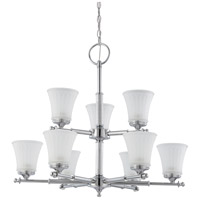 Teller 9 Light 30 inch Polished Chrome Chandelier Ceiling Light