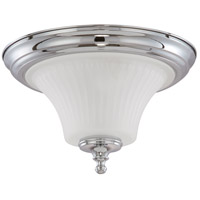 Nuvo 60/4271 Teller 2 Light 13 inch Polished Chrome Flushmount Ceiling Light
