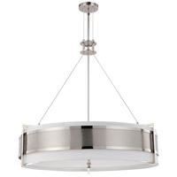 Nuvo Lighting Diesel 6 Light Pendant in Polished Nickel 60/4334 photo thumbnail