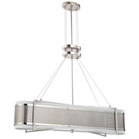 Nuvo Lighting Diesel 4 Light Pendant in Polished Nickel 60/4335 photo thumbnail