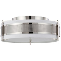 Nuvo Lighting Diesel 4 Light Flushmount in Polished Nickel 60/4337