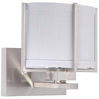 Nuvo Lighting Portia 1 Light Vanity & Wall in Brushed Nickel 60/4341