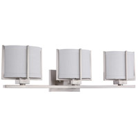 Nuvo Lighting Portia 3 Light Vanity & Wall in Brushed Nickel 60/4343