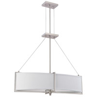 Nuvo Lighting Portia 4 Light Pendant in Brushed Nickel 60/4347 photo thumbnail