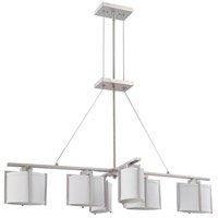 Nuvo Lighting Portia 6 Light Pendant in Brushed Nickel 60/4351 photo thumbnail