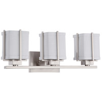 Nuvo Lighting Logan 3 Light Vanity & Wall in Brushed Nickel 60/4363