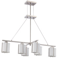 Nuvo Lighting Logan 6 Light Pendant in Brushed Nickel 60/4371