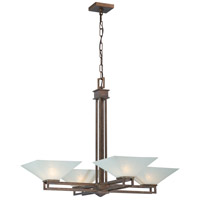 Nuvo Lighting Ratio 4 Light Chandelier in Inca Gold 60/4404 photo thumbnail
