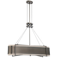 Nuvo Lighting Diesel 4 Light Pendant in Hazel Bronze 60/4435