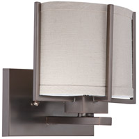 Nuvo Lighting Portia 1 Light Vanity & Wall in Hazel Bronze 60/4451