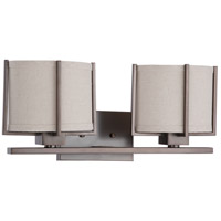 Nuvo Lighting Portia 2 Light Vanity & Wall in Hazel Bronze 60/4452