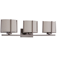 Nuvo Lighting Portia 3 Light Vanity & Wall in Hazel Bronze 60/4453
