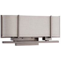 Nuvo Lighting Portia 2 Light Vanity & Wall in Hazel Bronze 60/4454