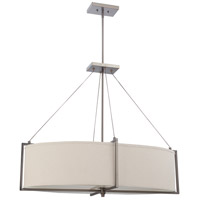 Nuvo Lighting Portia 6 Light Pendant in Hazel Bronze 60/4456