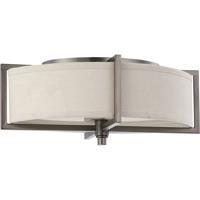Nuvo 60/4458 Portia 2 Light 11 inch Hazel Bronze Flush Mount Ceiling Light