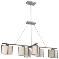 Nuvo Lighting Portia 6 Light Pendant in Hazel Bronze 60/4461