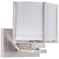 Nuvo Lighting Portia 1 Light Vanity & Wall in Brushed Nickel 60/4472