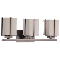 Nuvo Lighting Logan 3 Light Vanity & Wall in Hazel Bronze 60/4483
