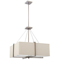Nuvo Lighting Logan 4 Light Pendant in Hazel Bronze 60/4487