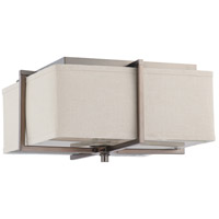 Nuvo Lighting Logan 2 Light Flushmount in Hazel Bronze 60/4488
