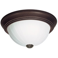 Nuvo Lighting Signature 1 Light Flushmount in Old Bronze 60/449