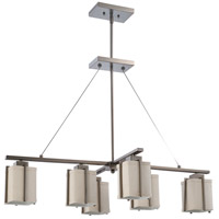 Nuvo Lighting Logan 6 Light Pendant in Hazel Bronze 60/4491