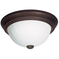 Nuvo Lighting Signature 2 Light Flushmount in Old Bronze 60/450