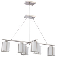 Nuvo Lighting Logan 6 Light Pendant in Brushed Nickel 60/4511