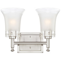 Nuvo Lighting Patrone 2 Light Vanity & Wall in Brushed Nickel 60/4522