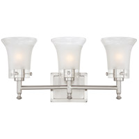 Nuvo Lighting Patrone 3 Light Vanity & Wall in Brushed Nickel 60/4523 photo thumbnail