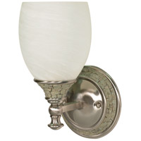 Nuvo Lighting Rockport Milano 1 Light Vanity & Wall in Brushed Nickel 60/453 photo thumbnail