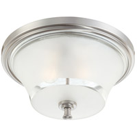 Nuvo Lighting Patrone 2 Light Flushmount in Brushed Nickel 60/4531