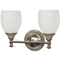Nuvo Lighting Rockport Milano 2 Light Vanity & Wall in Brushed Nickel 60/454 photo thumbnail