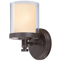Nuvo Lighting Decker 1 Light Vanity & Wall in Sudbury Bronze 60/4541