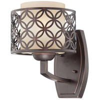 Nuvo Lighting Margaux 1 Light Vanity & Wall in Patina Bronze 60/4561