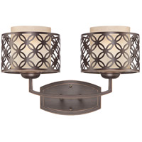 Nuvo Lighting Margaux 2 Light Vanity & Wall in Patina Bronze 60/4562