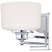 Nuvo Lighting Soho 1 Light Vanity & Wall in Polished Chrome 60/4581 photo thumbnail