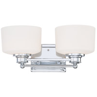 Nuvo Lighting Soho 2 Light Vanity & Wall in Polished Chrome 60/4582