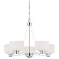 Nuvo Lighting Soho 5 Light Chandelier in Polished Chrome 60/4585