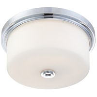 Nuvo Lighting Soho 3 Light Flushmount in Polished Chrome 60/4592