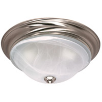 Nuvo Lighting Triumph 2 Light Flushmount in Brushed Nickel 60/463