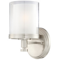 Decker 1 Light 6 inch Brushed Nickel Vanity & Wall Wall Light