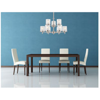 Nuvo Lighting Decker 9 Light Chandelier in Brushed Nickel 60/4649 alternative photo thumbnail