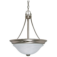 Nuvo Lighting Triumph 2 Light Pendant in Brushed Nickel 60/465